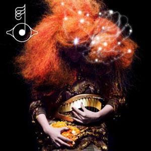 Björk Crystalline Artwork