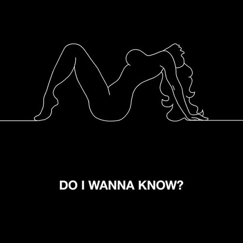 Arctic Monkeys Do I Wanna Know? Artwork