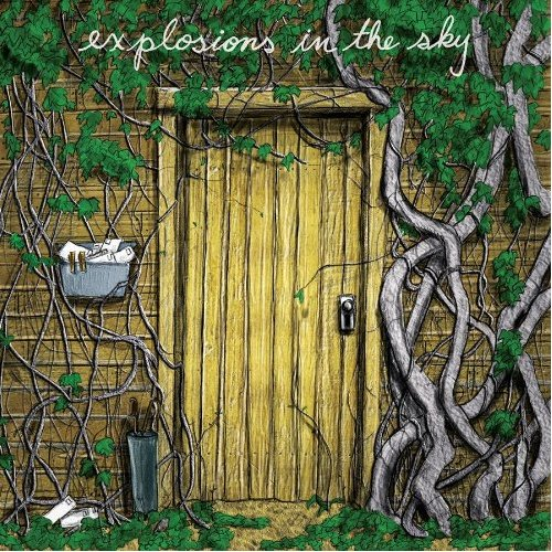Explosions in the Sky Postcard From 1952 Artwork