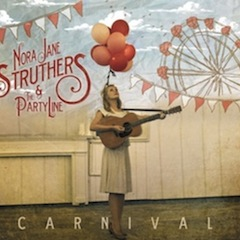 Nora Jane Struthers & The Party Live Carnival Artwork