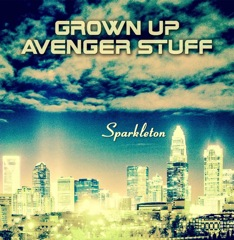 Grown Up Avenger Stuff The Beat Artwork