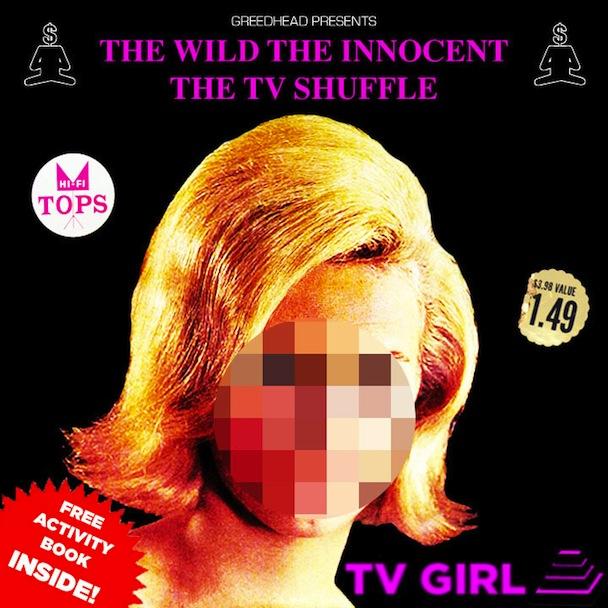 TV Girl It Evaporates Artwork