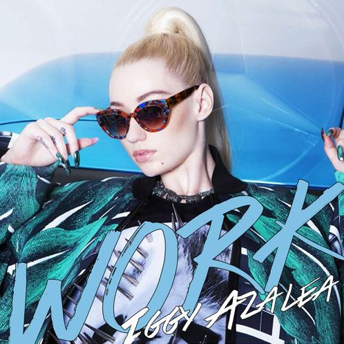 Iggy Azalea Work Artwork