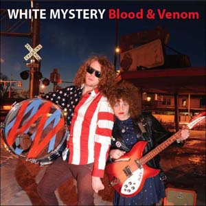 White Mystery Blood & Venom Artwork