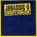 Jurassic 5 Concrete Schoolyard Artwork