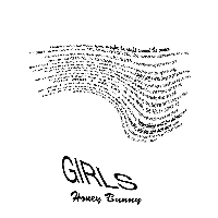 Girls Honey Bunny Artwork