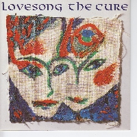 The Cure Lovesong Artwork