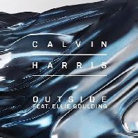 Calvin Harris Outside (Ft. Ellie Goulding) Artwork