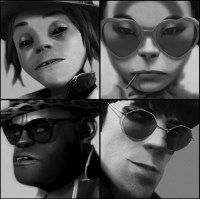 Gorillaz Real Faces and Members