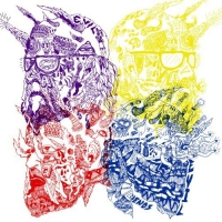 Portugal. The Man - Purple Yellow Red and Blue