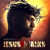 Kanye West Jesus Walks Artwork