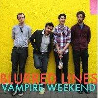 Robin Thicke - Blurred Lines (Vampire Weekend Cover)