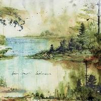 Bon Iver Holocene (Deadwood Floats Cover) Artwork