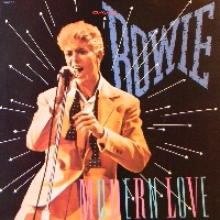 David Bowie Modern Love Artwork
