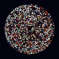 Four Tet Angel Echoes (Caribou Remix) Artwork