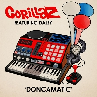 Gorillaz Doncamatic (All Played Out) (Ft. Daley) Artwork