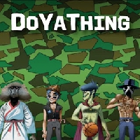 Gorillaz DoYaThing (Ft. James Murphy & Andre 3000) Artwork