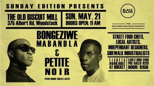 Petite Noir and Bongeziwe Mabandla Live Show in Cape Town