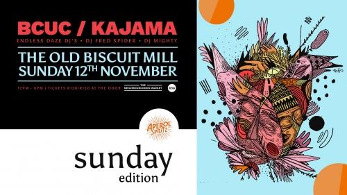 Sunday Edition Featuring BCUC & Kajama