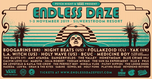 Endless Daze 2019: 5-1-Interviews