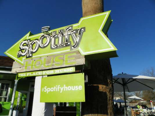 SXSW 2015: The Spotify House