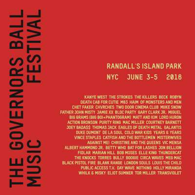 Governors Ball 2015 Festival Preview