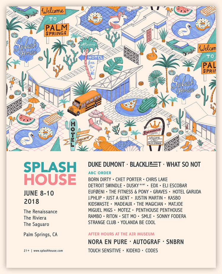 Splash House June 2018: Recap Playlist