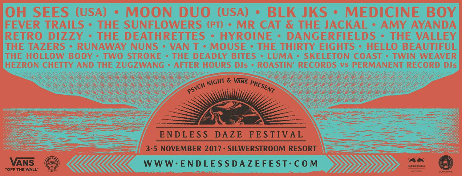 Endless Daze 2017 Preview